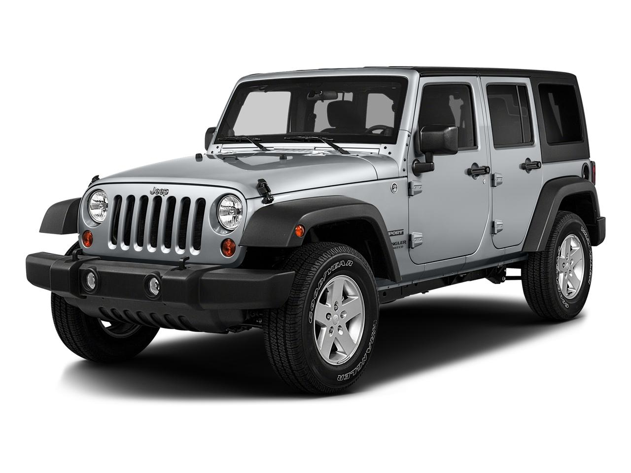 2016 Jeep Wrangler Unlimited Vehicle Photo in Prescott, AZ 86305