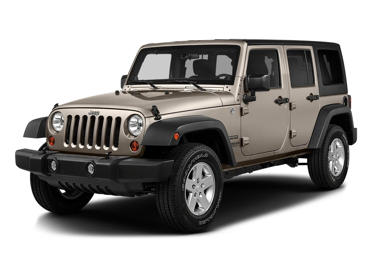 2016 Jeep Wrangler Unlimited Vehicle Photo in Austin, TX 78759
