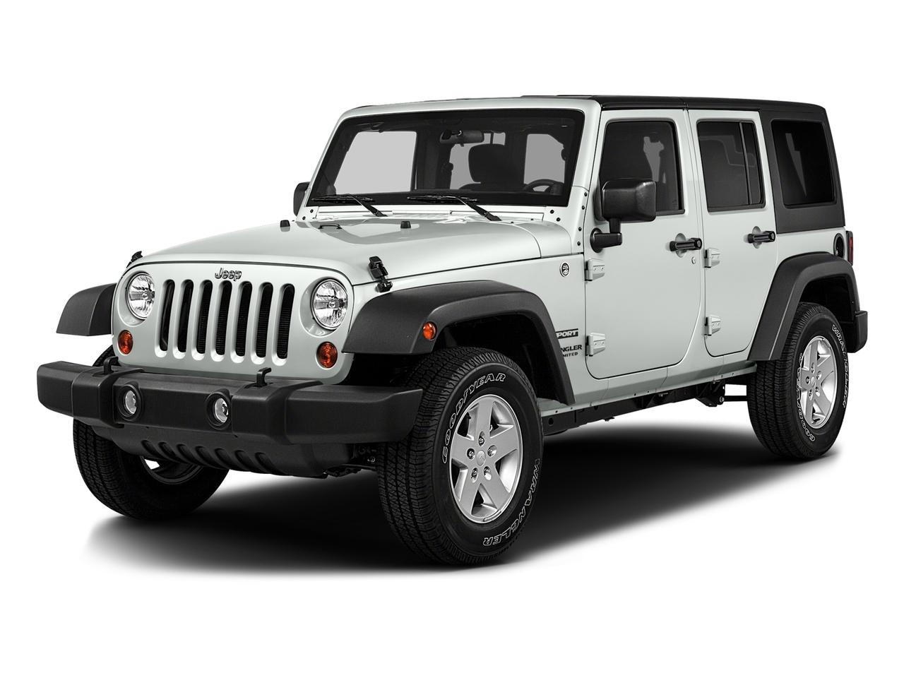 2016 Jeep Wrangler Unlimited Vehicle Photo in ANNAPOLIS, MD 21401