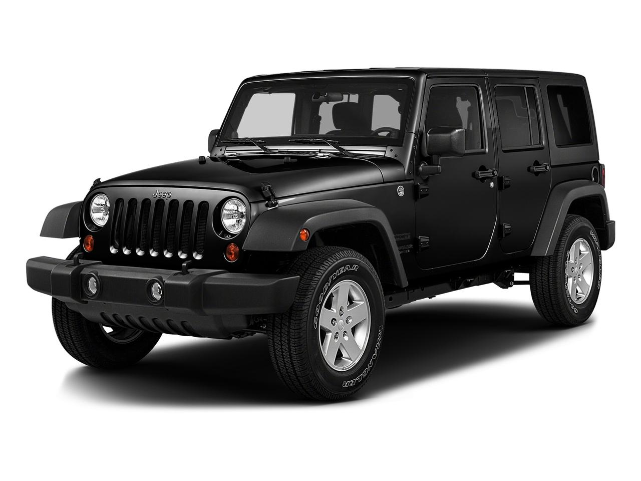 2016 Jeep Wrangler Unlimited Vehicle Photo in Edinburg, TX 78539