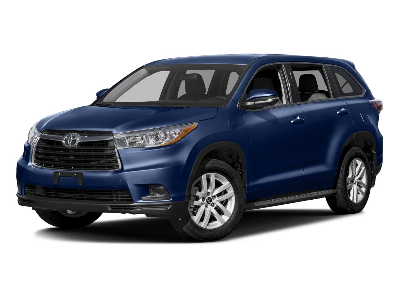 2016 Toyota Highlander Vehicle Photo in Manassas, VA 20109