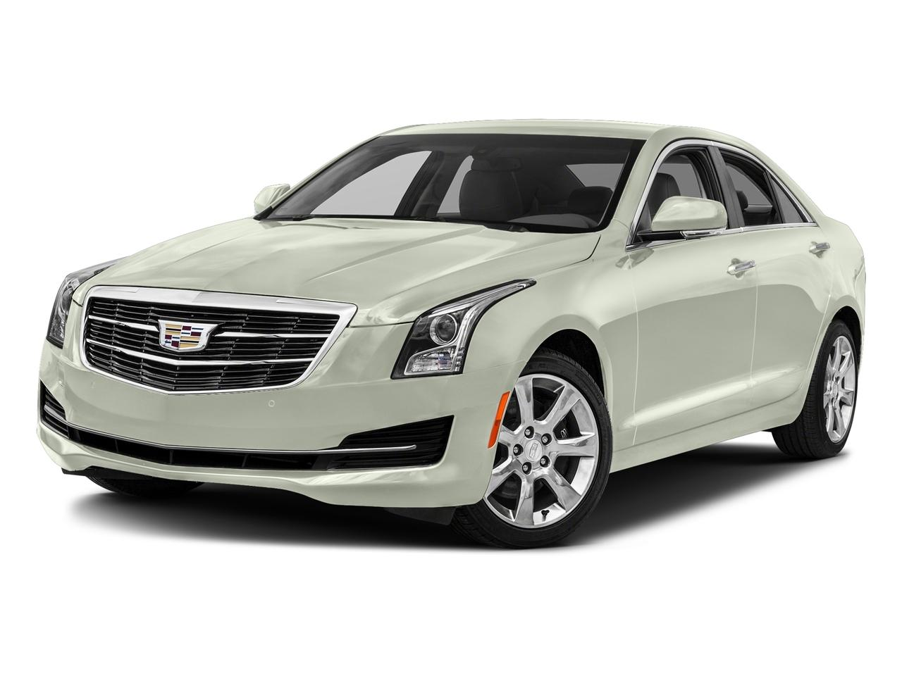 Certified 2017 Crystal White Tricoat 3.6L Cadillac ATS ...