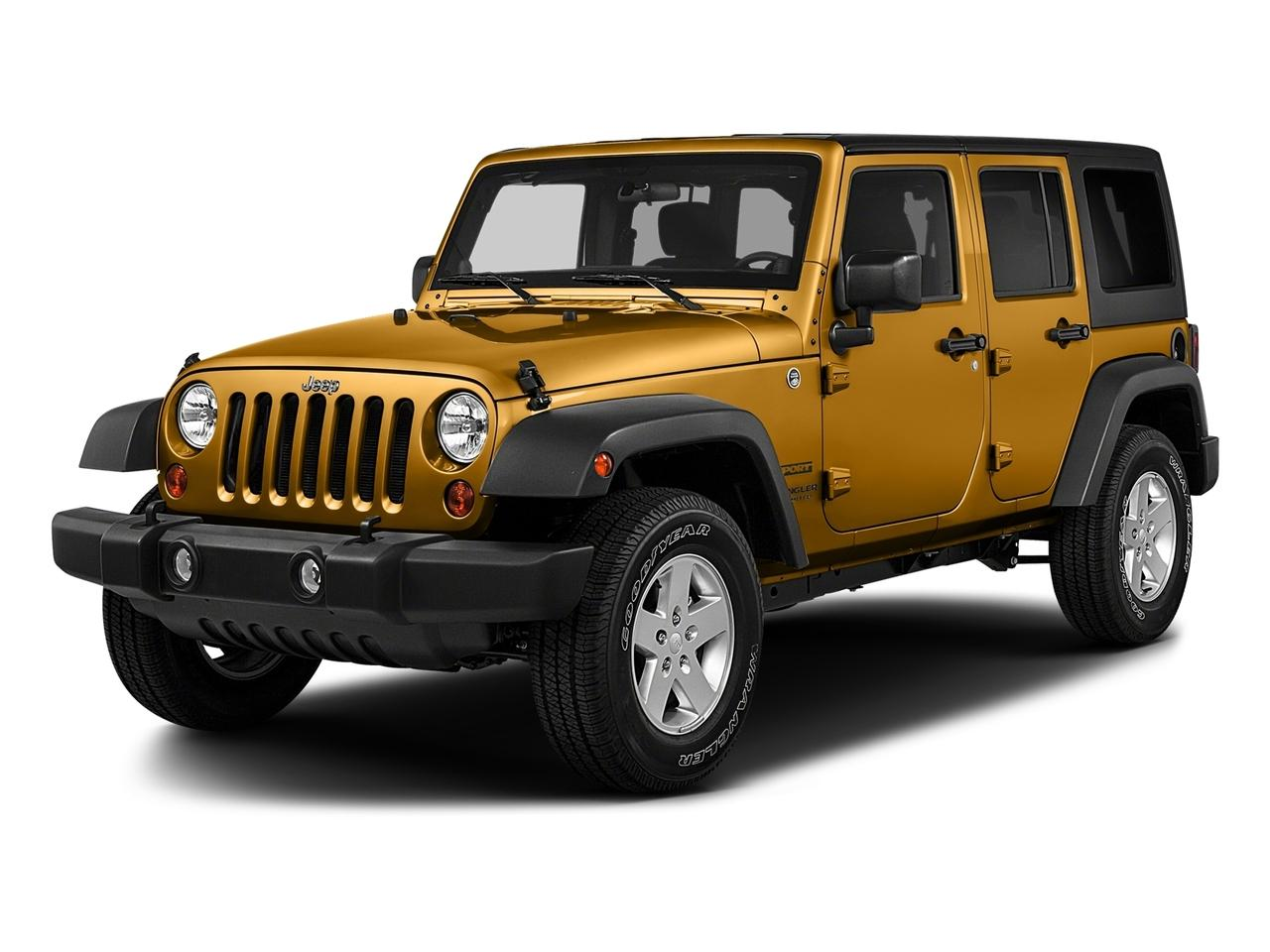2017 Jeep Wrangler Unlimited Vehicle Photo in El Paso , TX 79925