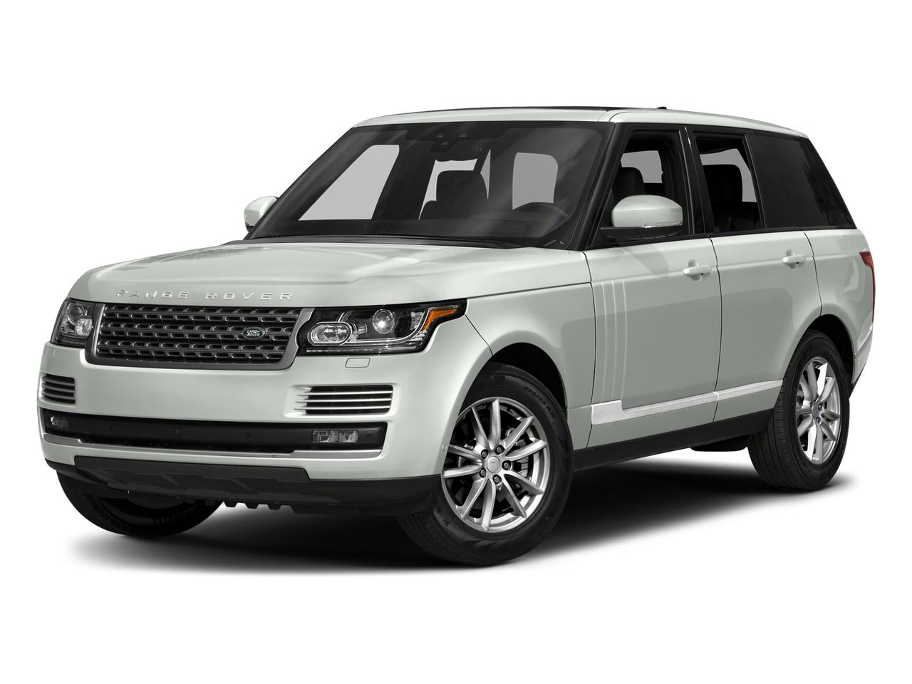 2017 Land Rover Range Rover Vehicle Photo in Austin, TX 78717