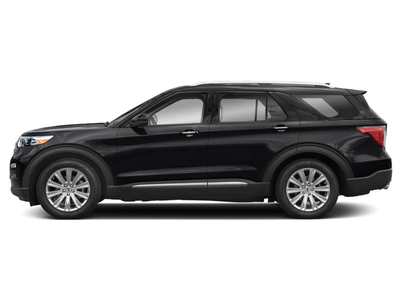 new agate black metallic 2020 ford explorer limited rwd