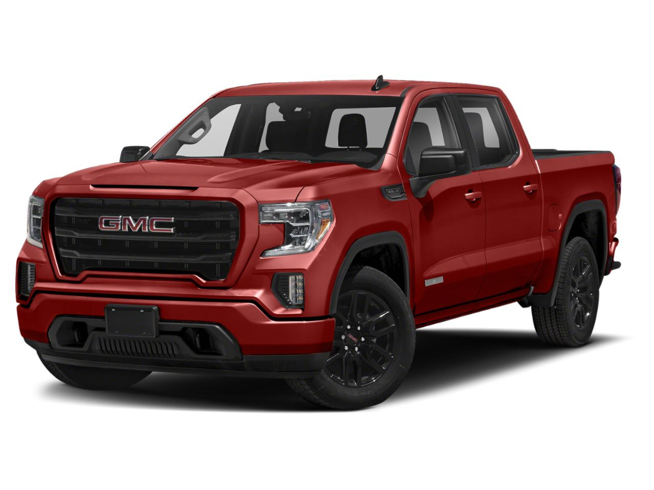 huntersville cardinal red 2021 gmc sierra 1500: new truck