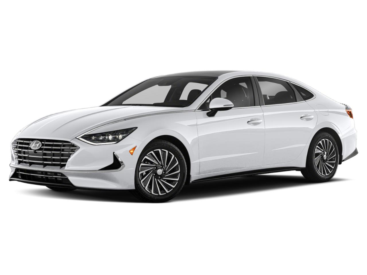 2021 Hyundai Sonata Hybrid Vehicle Photo in O'Fallon, IL 62269