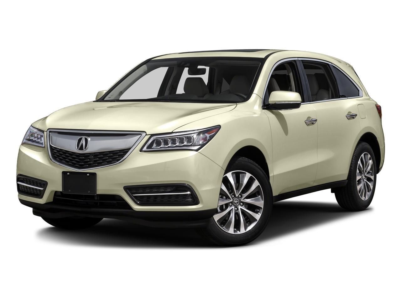 2016 Acura MDX Vehicle Photo in Fort Scott, KS 66701