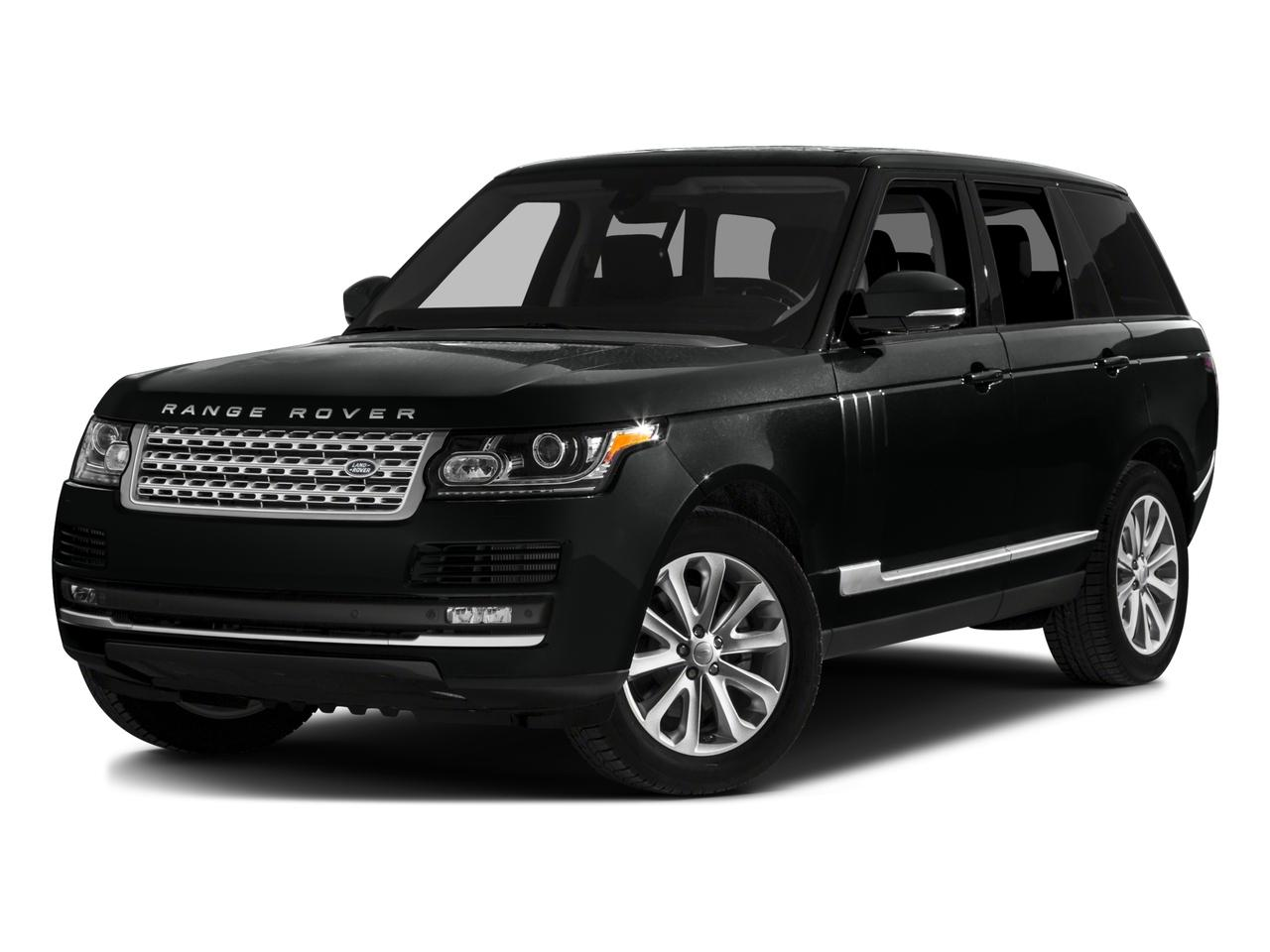 2016 Land Rover Range Rover Vehicle Photo in Austin, TX 78759
