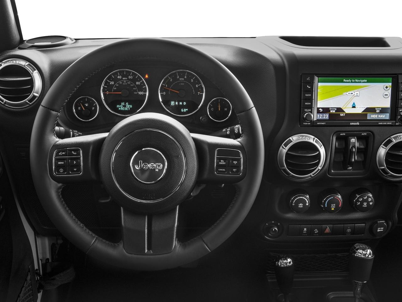 Used 2017 Jeep Wrangler Unlimited in Granite Crystal ...