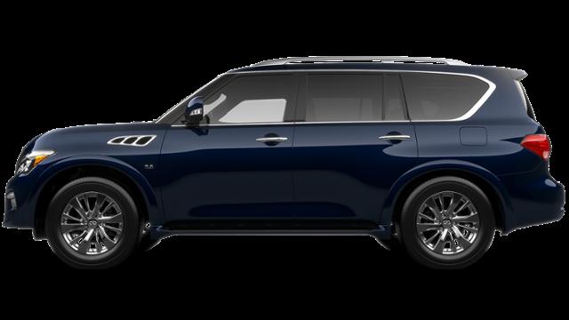 Benton Hermosa Blue 2017 INFINITI QX80 Used Suv for Sale