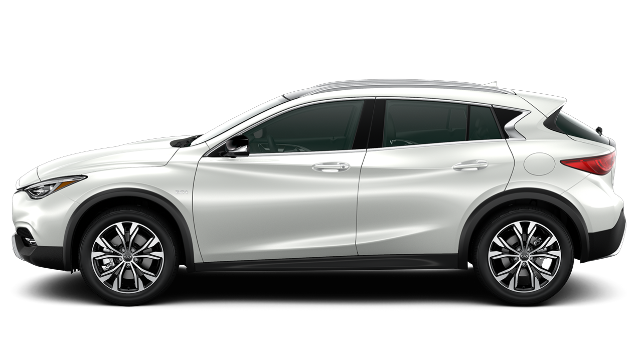 a 2017 infiniti qx30 in bloomington mn dealer luther infiniti of bloomington majestic white. Black Bedroom Furniture Sets. Home Design Ideas
