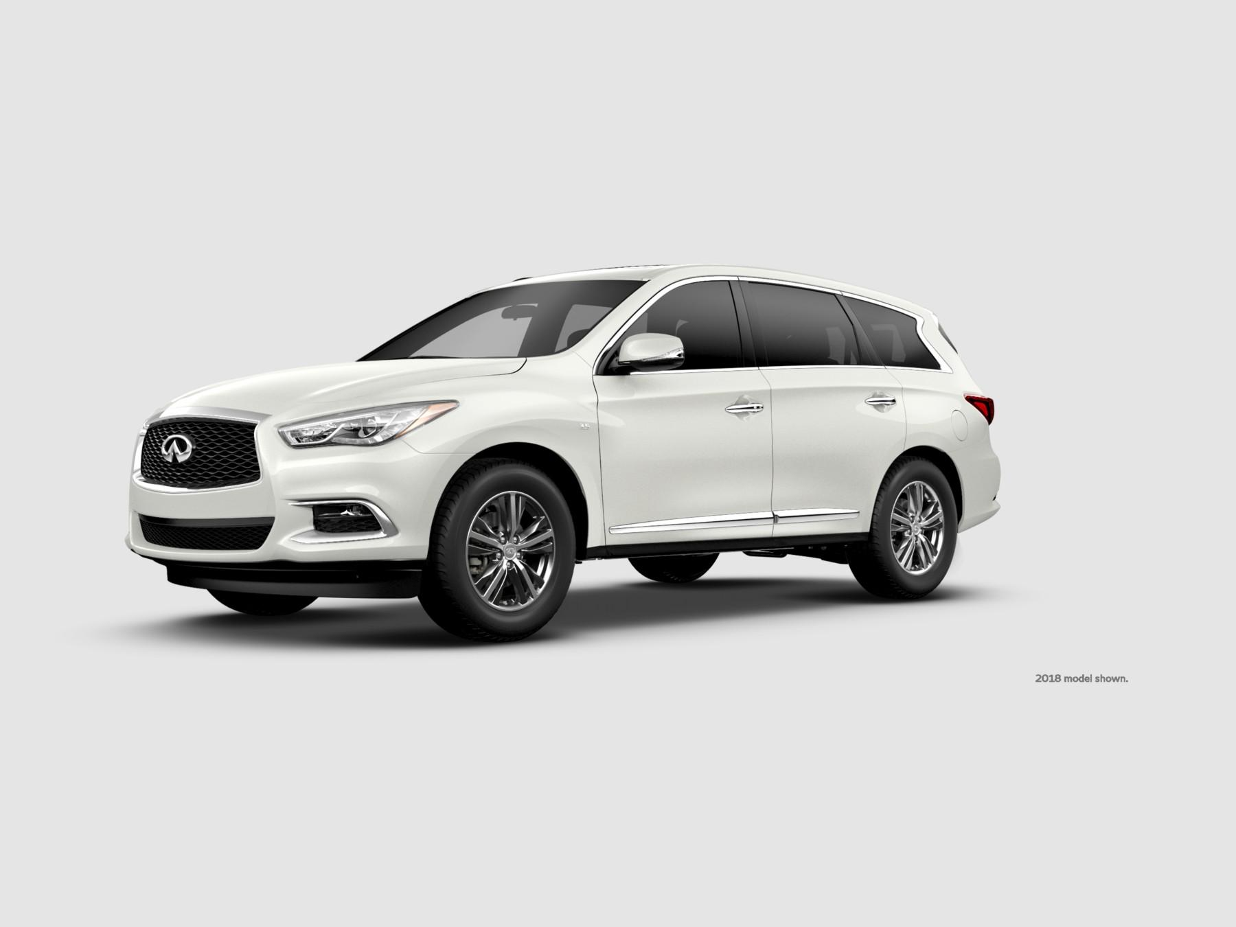 Qx60 Luxe Awd Majestic White