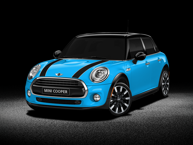 Greenville Blue 2016 Mini Cooper Hardtop 4 Door Used Car For Sale