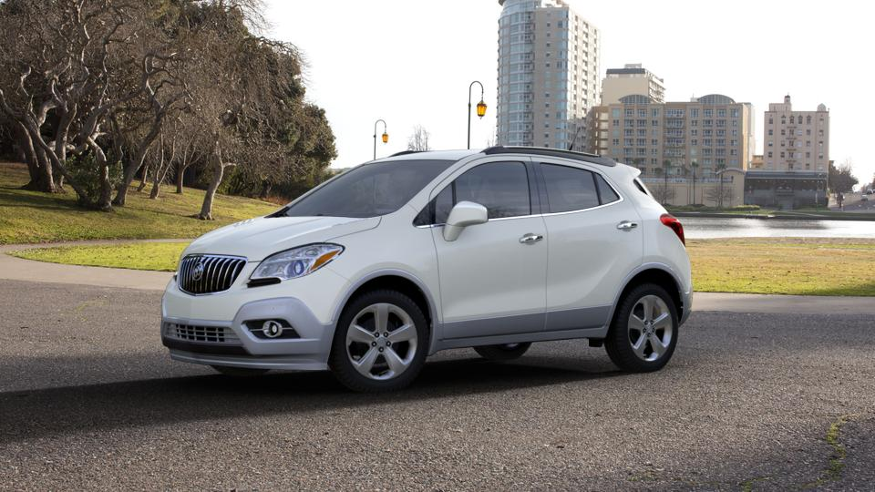 test drive this used buick encore in white pearl tricoat. Black Bedroom Furniture Sets. Home Design Ideas