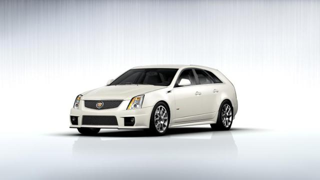 Cts-V Wagon For Sale >> Vacaville White Diamond Tricoat 2013 Cadillac Cts V Wagon Used