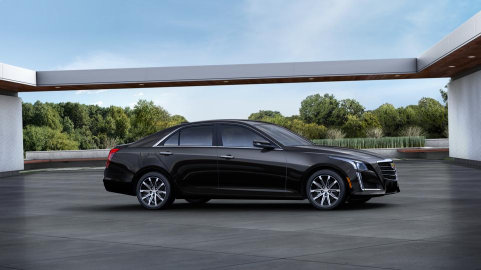 Certified Stellar Black Metallic 2016 Cadillac CTS Sedan ...