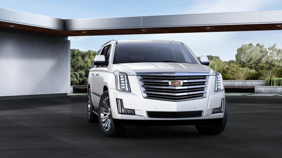 Used Crystal White Tricoat 2016 Cadillac Escalade ESV ...