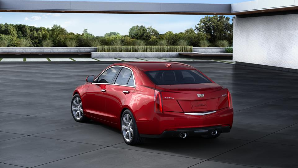 Lafontaine Cadillac Buick Gmc >> Used 2016 Red Obsession Tintcoat Cadillac ATS Sedan For Sale at LaFontaine Buick GMC of Highland ...