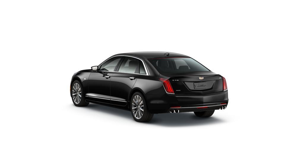 Certified Black Raven 2017 Cadillac Ct6 In Kansas City