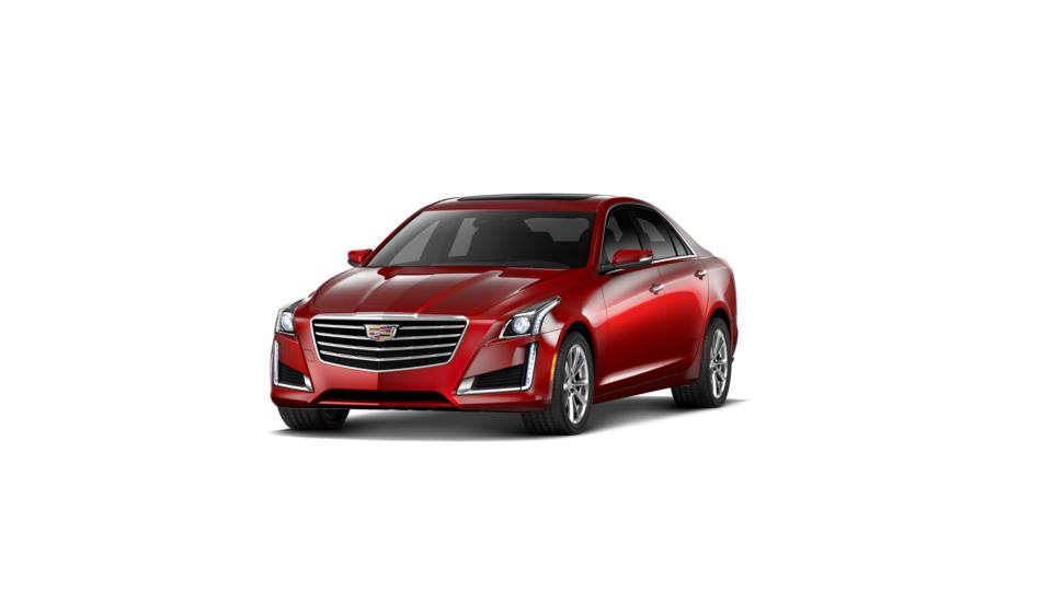 Dallas Certified 2018 Cadillac Cts Sedan Red Obsession