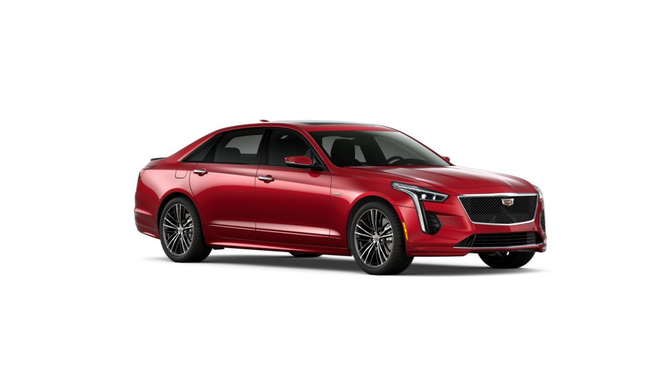 Red Horizon Tintcoat 2020 Cadillac CT6-V: New Car for Sale ...