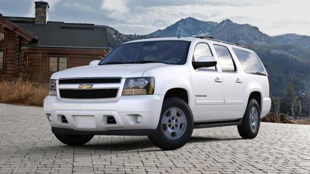 Used 2013 Summit White Chevrolet Suburban 4wd 4dr 1500 Ls