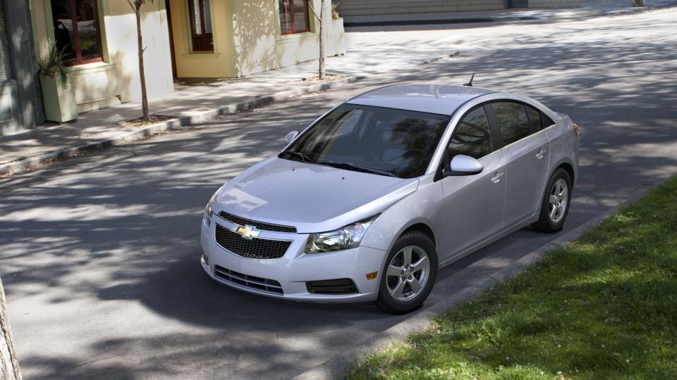 The 2014 Chevrolet Cruze For Sale At John Hiester Chevrolet 1g1pc5sb1e7105042