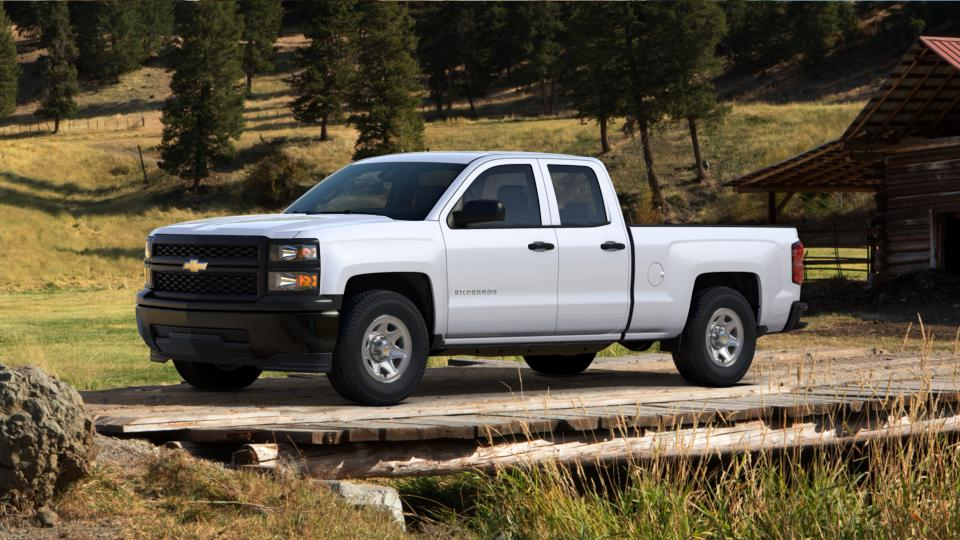 used 2014 chevrolet silverado 1500 double cab standard box 2 wheel drive work truck w 1wt for. Black Bedroom Furniture Sets. Home Design Ideas