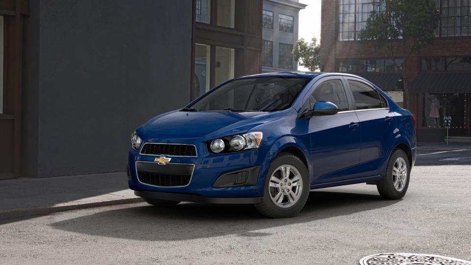 Used Blue Topaz Metallic 2014 Chevrolet Sonic For Sale Bryner Chevrolet