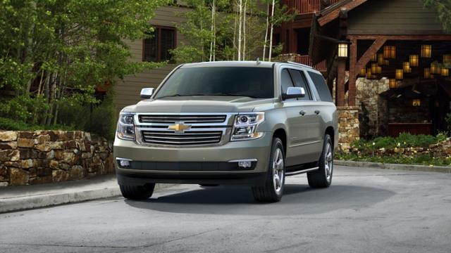 2015 Chevrolet Suburban Vehicle Photo In Cincinnati, OH 45249