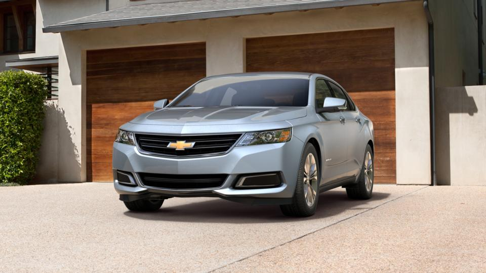 2015 Silver Topaz Metallic Chevrolet Impala for Sale at Charles Boyd Chevrolet Buick GMC