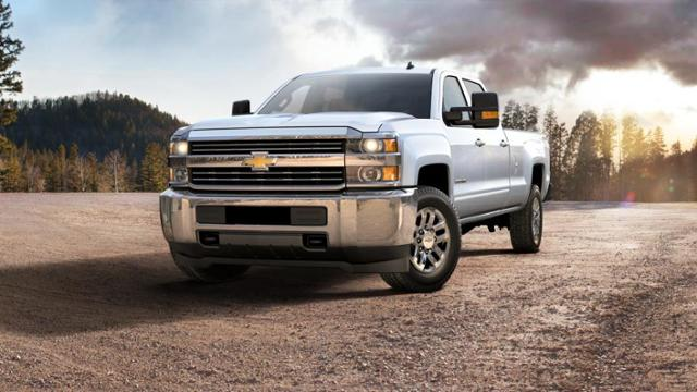 Used 2015 Summit White Chevrolet Silverado 3500HD Built After Aug 14