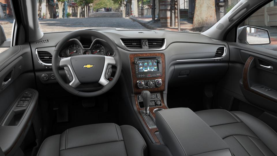 used mosaic black metallic 2016 chevrolet traverse fwd ltz. Black Bedroom Furniture Sets. Home Design Ideas