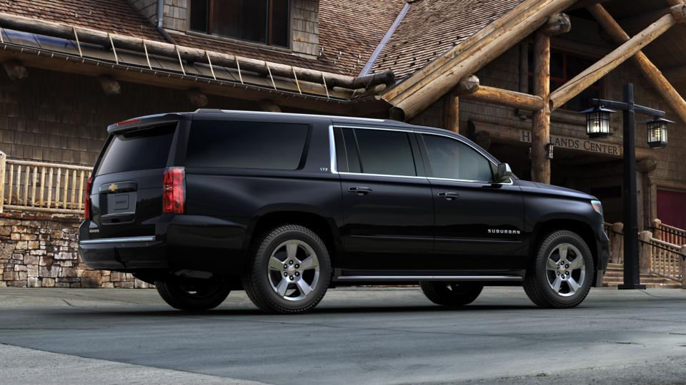 black 2016 chevrolet suburban used suv for sale in troy oh p7082. Black Bedroom Furniture Sets. Home Design Ideas