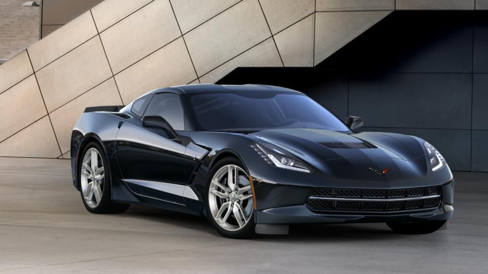 New Black 2016 Chevrolet Corvette Stingray Coupe Z51 3LT for Sale Indianapolis, IN | Hubler ...