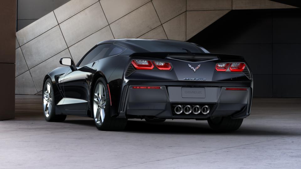 Black 2016 Chevrolet Corvette Stingray Coupe Z51 3lt New