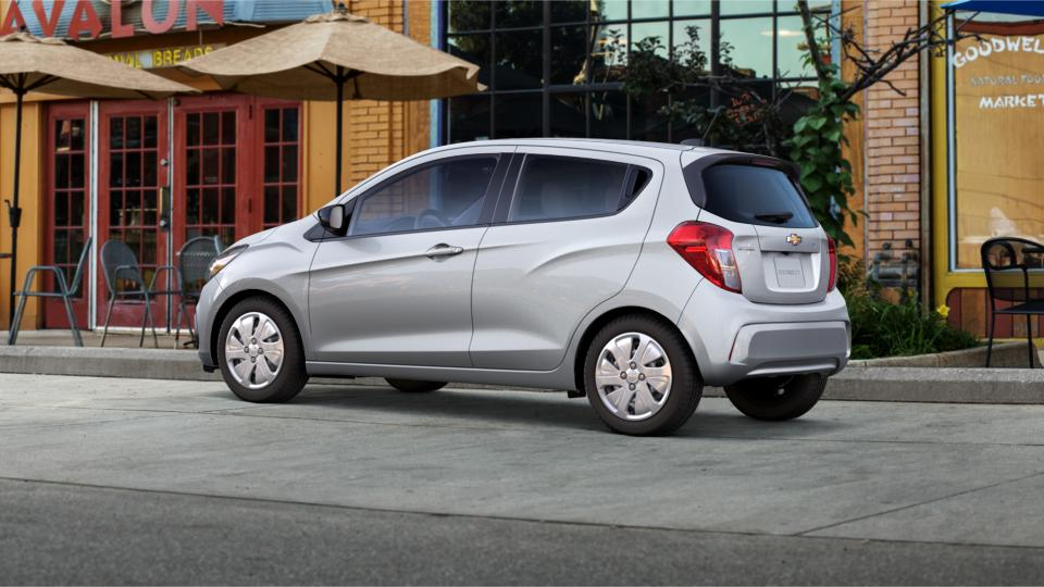 2016 Silver Chevrolet Spark for Sale at Charles Boyd Chevrolet Buick GMC