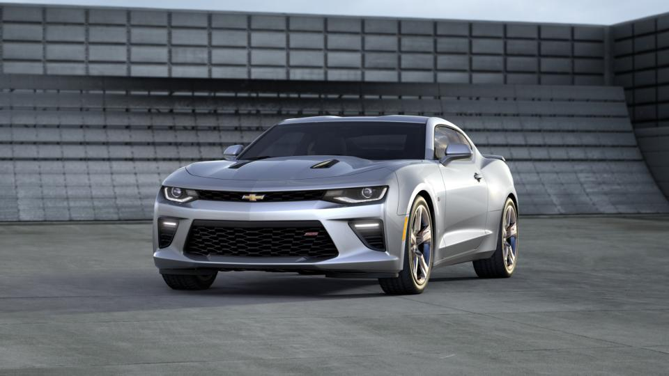 Used 2016 Silver Ice Metallic Chevrolet Camaro For Sale In