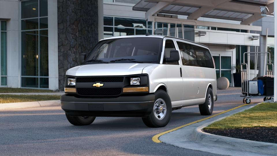 new 2017 summit white chevrolet express passenger 3500. Black Bedroom Furniture Sets. Home Design Ideas