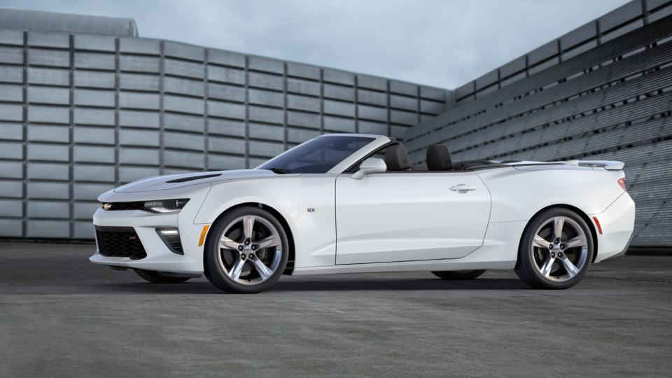 Raleigh Summit White 2017 Chevrolet Camaro: New