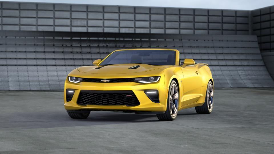 aurora bright yellow 2017 chevrolet camaro used car for sale p26138. Black Bedroom Furniture Sets. Home Design Ideas