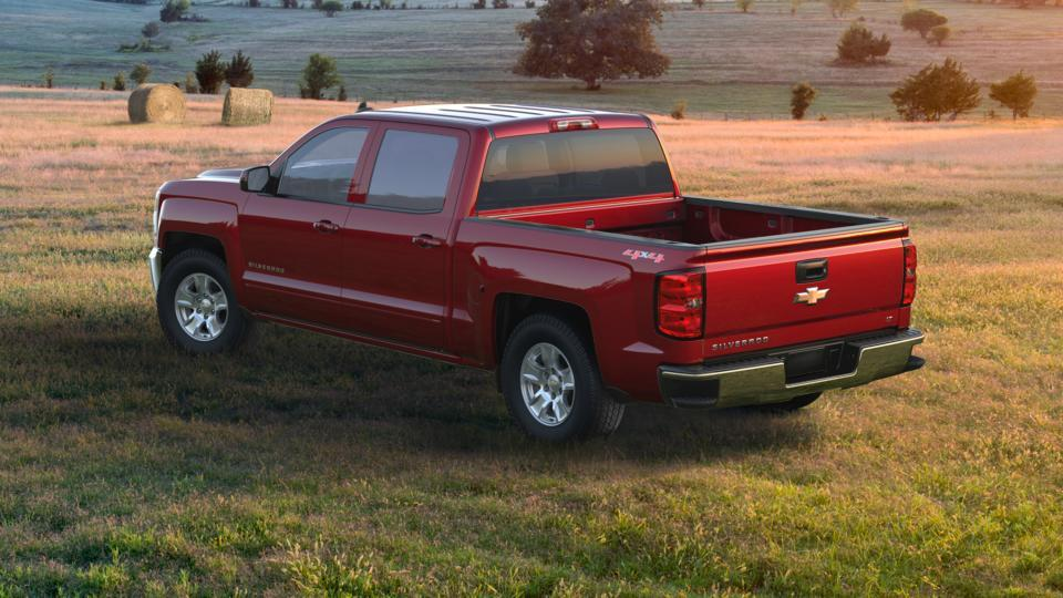 Used 2017 Red Chevrolet Silverado 1500 Lt For Sale In