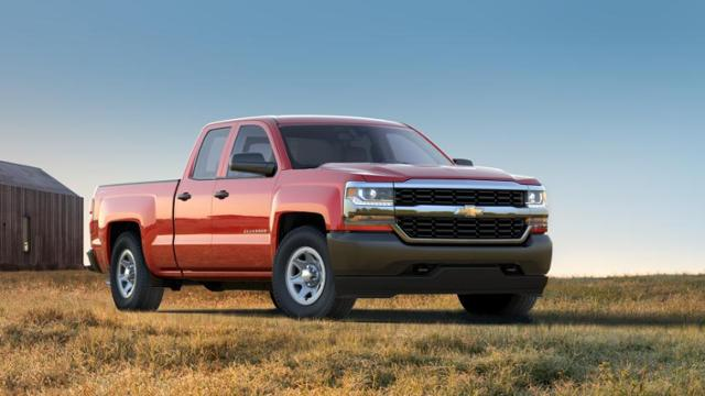 Used 2017 Chevrolet Silverado 1500 Double Cab Standard Box 4 Wheel Drive Wt In Red Hot For Sale In Shelbyville Indiana H7109