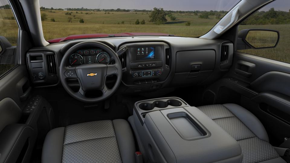 New 2017 Silver Ice Metallic Chevrolet Silverado 1500 ...