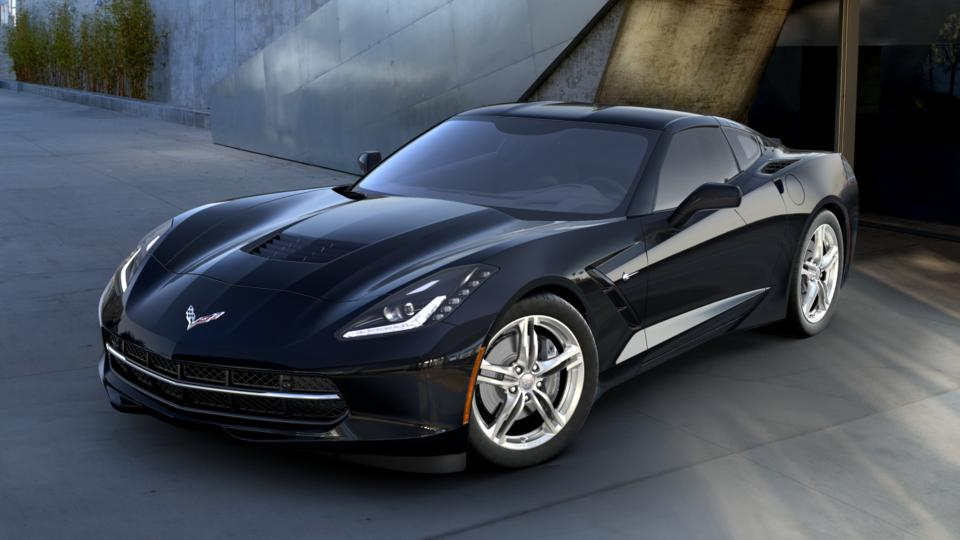 New Black 2017 Chevrolet Corvette Stingray Coupe 3lt For