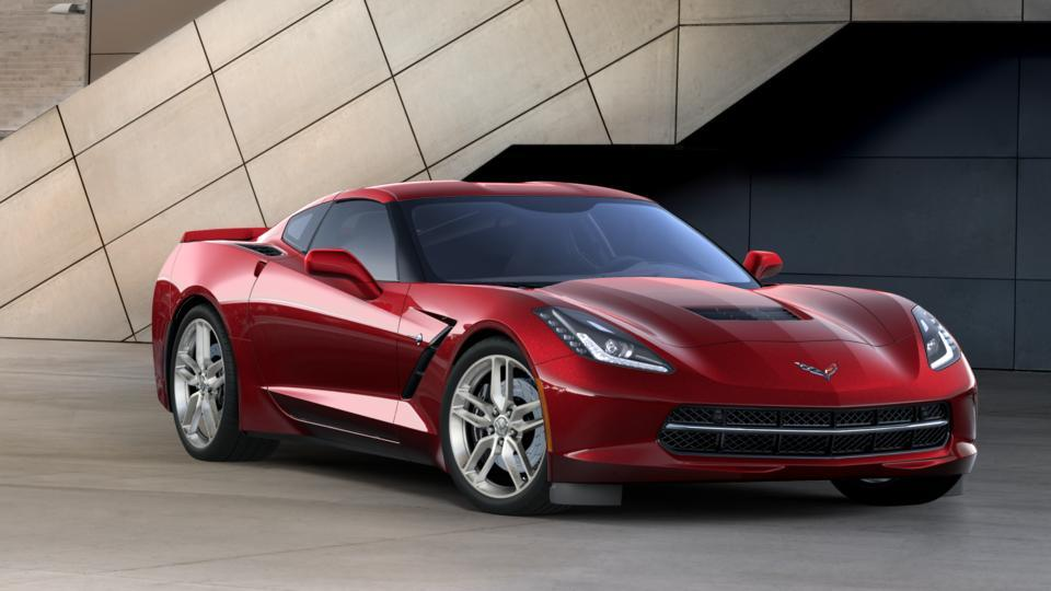 New 2017 Chevrolet Corvette Stingray Coupe Z51 2lt For