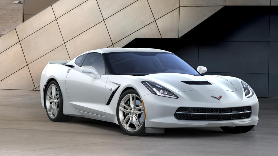 Bellefontaine Arctic White 2017 Chevrolet Corvette New