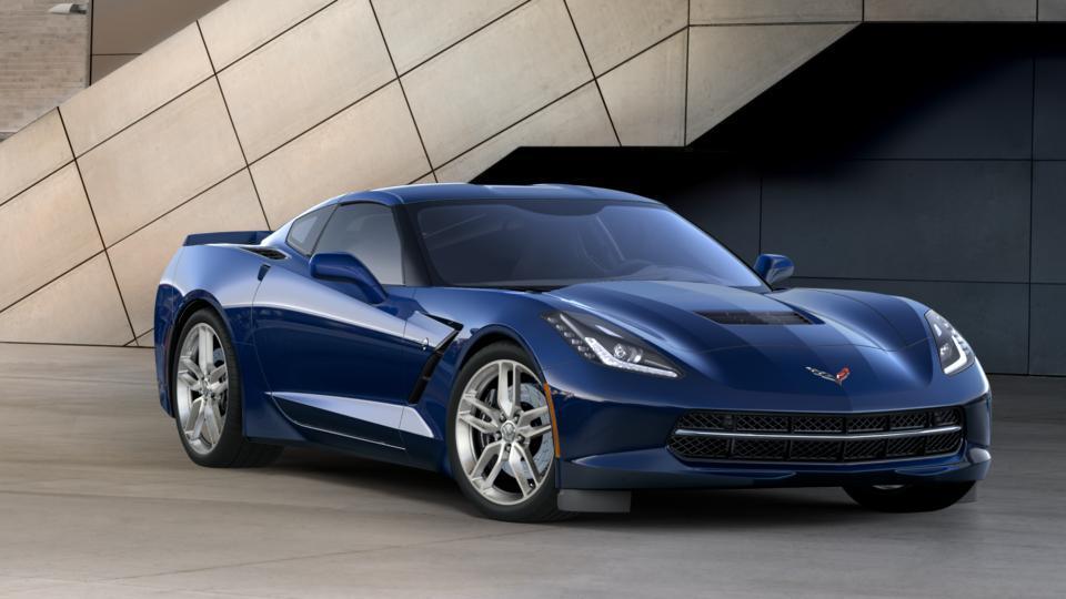 New Admiral Blue 2017 Chevrolet Corvette Stingray Coupe