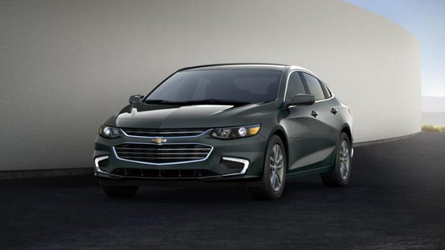 Certified Nightfall Gray Metallic 2017 Chevrolet Malibu